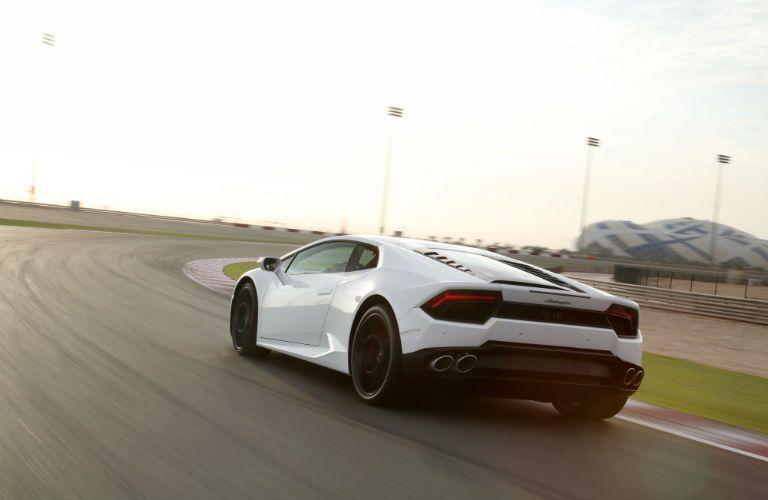 2018 Lamborghini Huracan Exterior Driver Side Rear Angle
