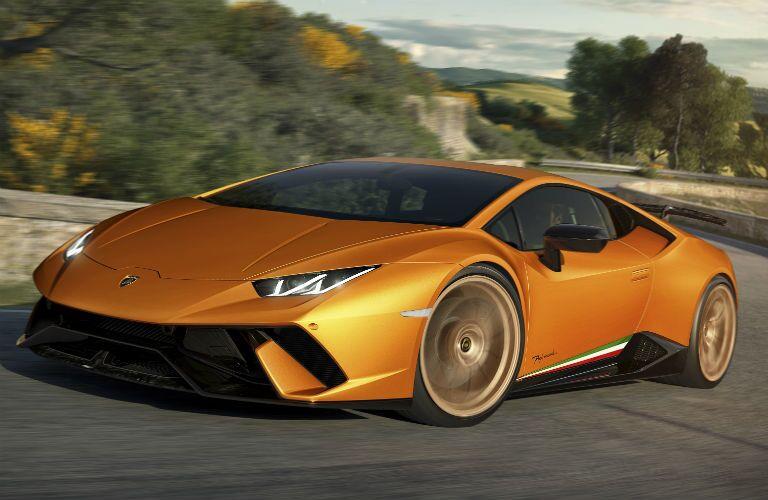 2018 Lamborghini Huracan Performante Exterior Driver Side Front Profile