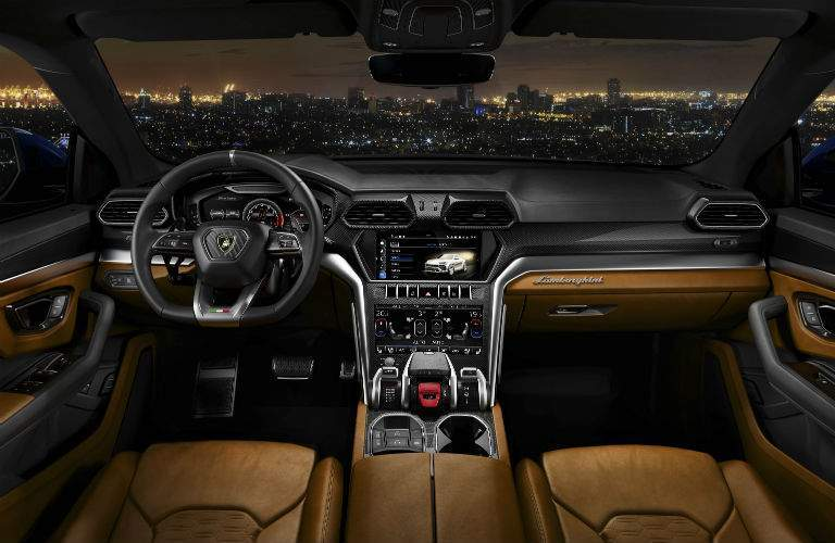 2018 Lamborghini Urus Interior Cabin Dashboard