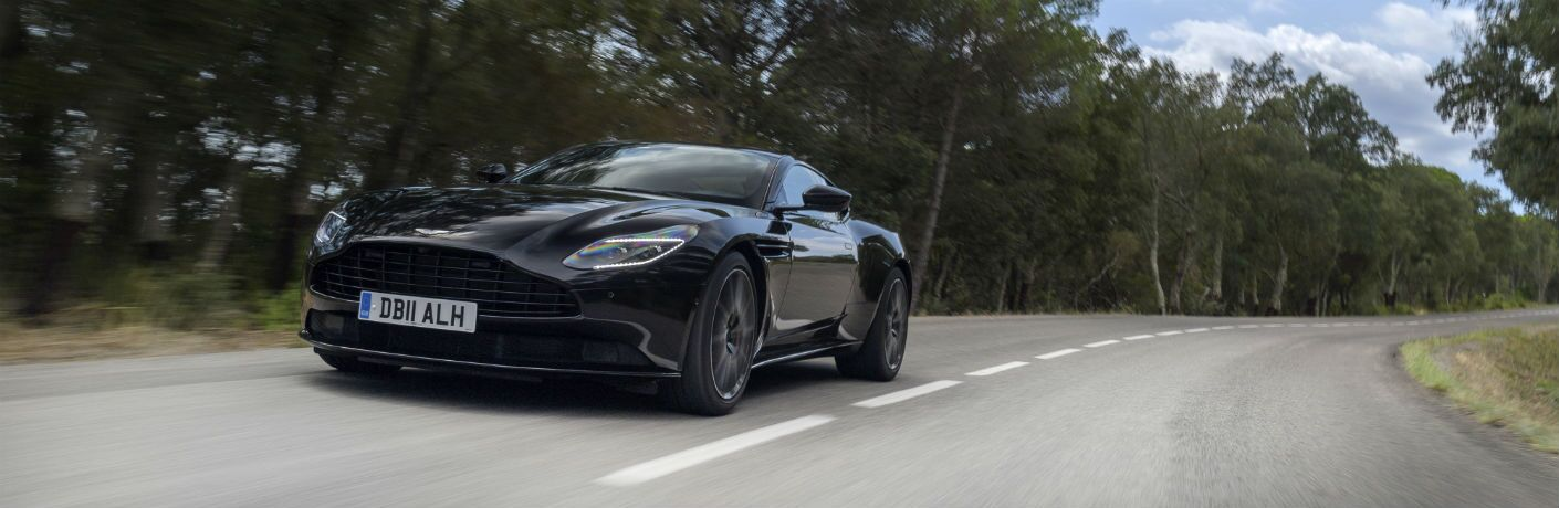 2019 Aston Martin DB11 Exterior Driver Side Front Angle