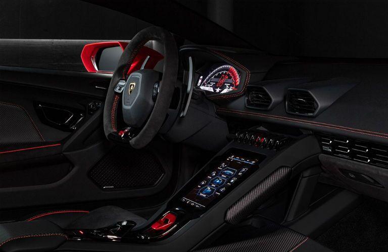 2019 Lamborghini Huracan EVO Interior Cabin Dashboard
