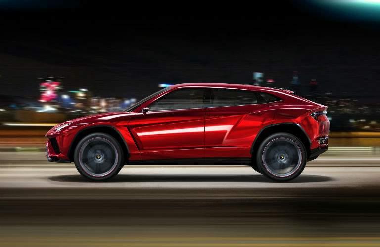 Lamborghini Urus Original Concept Exterior Front Profile