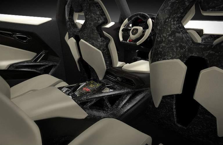 Lamborghini Urus Original Concept Interior Cabin Back Seat