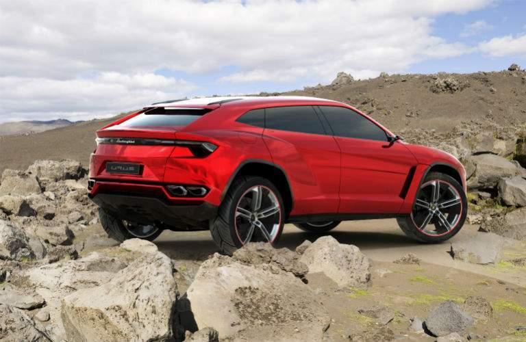 Lamborghini Urus Original Concept Exterior Rear Profile