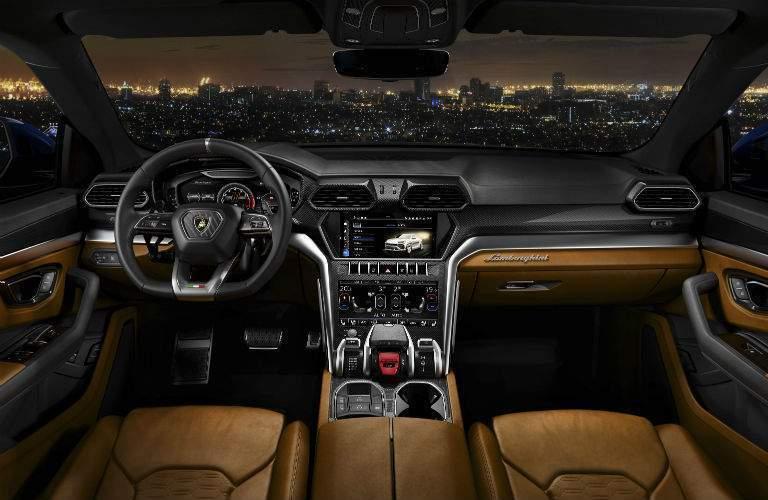 2019 Lamborghini Urus Interior Cabin Dashboard