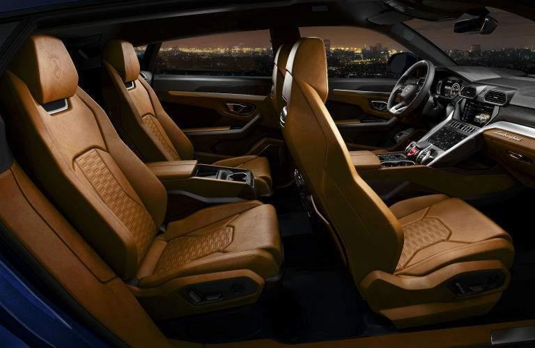 2019 Lamborghini Urus Interior Cabin Seating