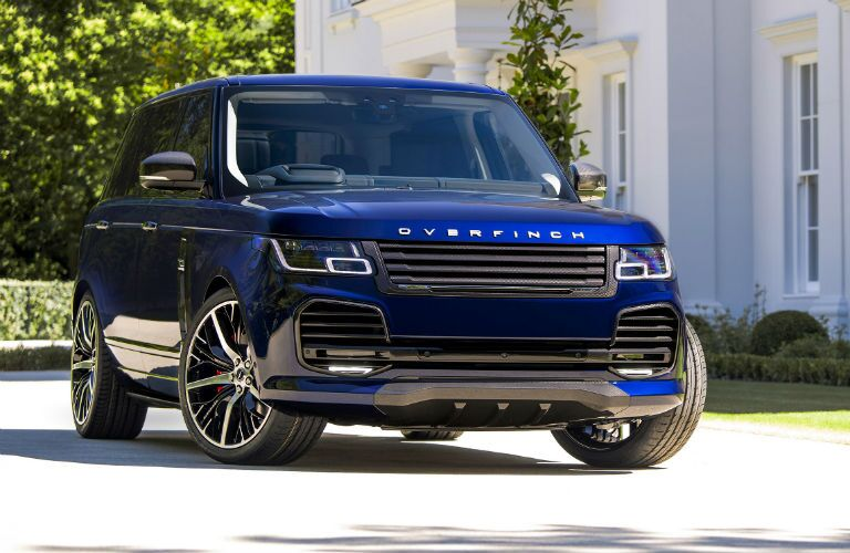 2019 Land Rover Overfinch Exterior Passenger Side Front Angle