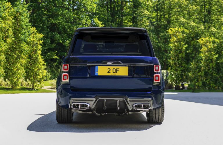 2019 Land Rover Overfinch Exterior Rear Fascia
