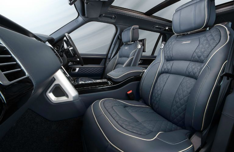 2019 Land Rover Overfinch Interior Cabin Front Seating