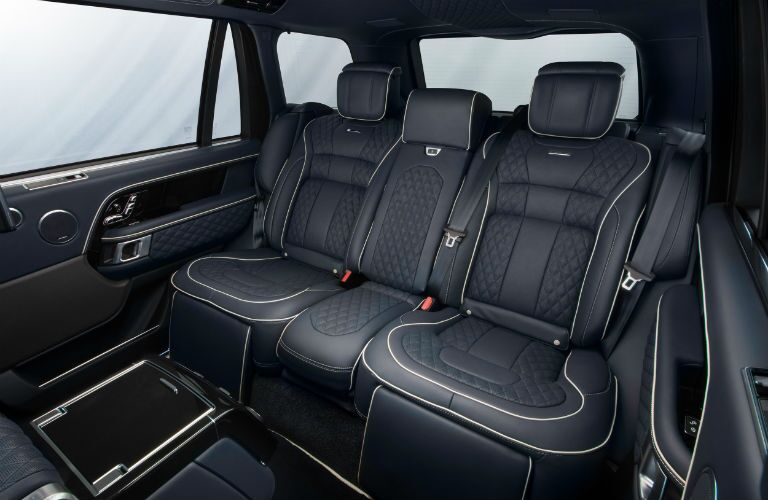 2019 Land Rover Overfinch Interior Cabin Rear Seating