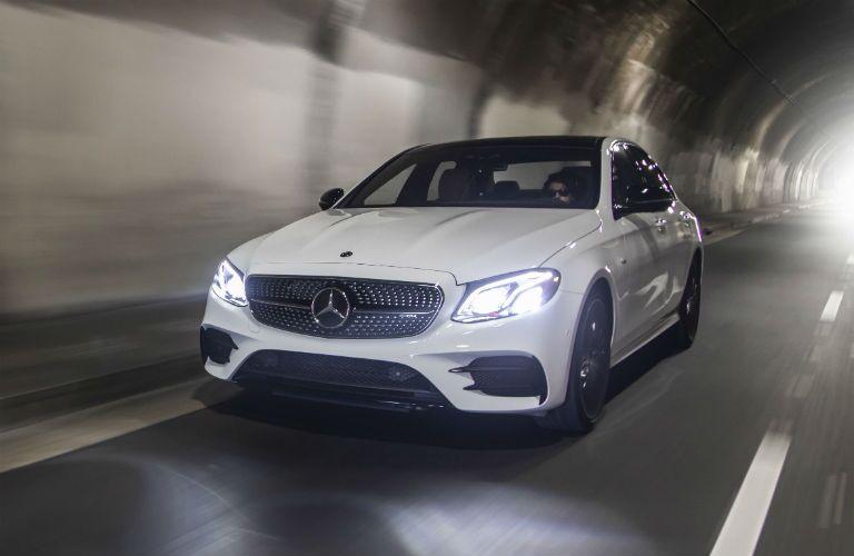 2019 Mercedes-AMG E 53 Sedan Exterior Driver Side Front Angle