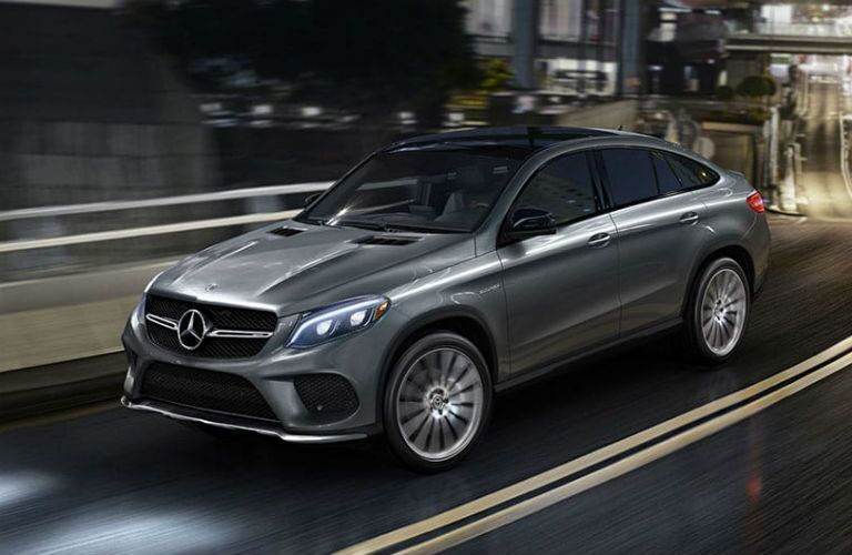 2019 Mercedes-Benz GLE-Class Coupe Exterior Driver Side Front Profile