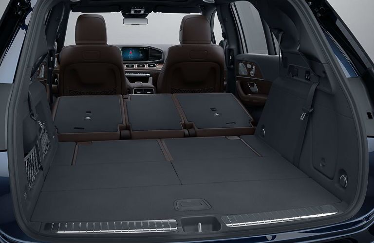 2019 Mercedes-Benz GLE-Class SUV Interior Cabin Seating Area Folded Flat for Cargo