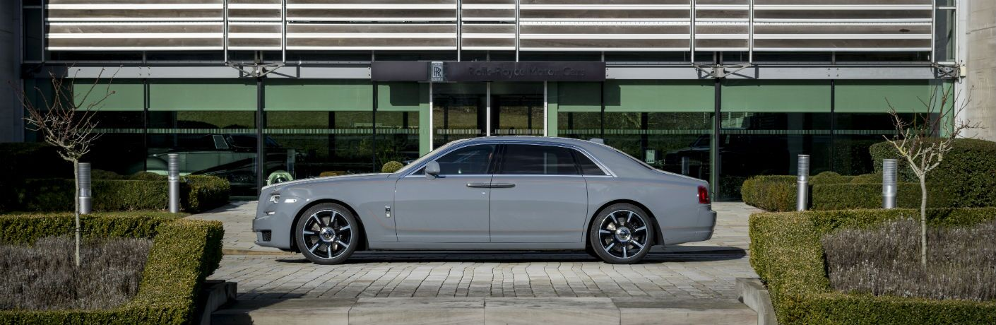 2019 Rolls-Royce Ghost Exterior Driver Side Profile