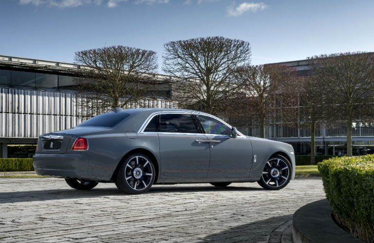2019 Rolls-Royce Ghost Exterior Passenger Side Rear Profile