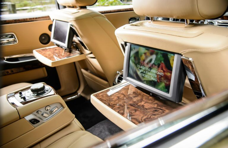 2019 Rolls-Royce Ghost Interior Cabin Rear Seat Entertainment System