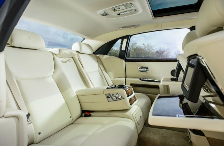 2019 Rolls-Royce Ghost Interior Cabin Rear Seating