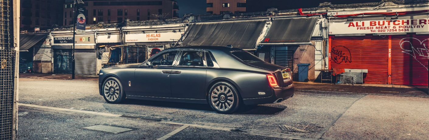 2019 Rolls-Royce Phantom Exterior Driver Side Rear Profile
