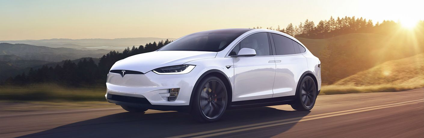 2019 Tesla Model X Exterior Driver Side Front Profile