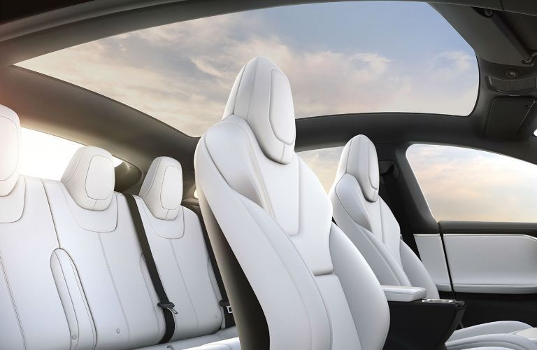 2019 Tesla Model X Interior Cabin Seating
