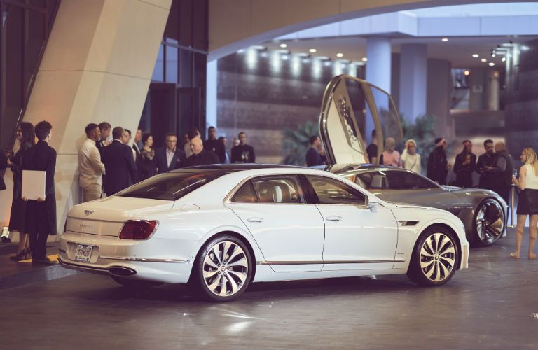 2020 Bentley Flying Spur Exterior Passenger Side Rear Profile