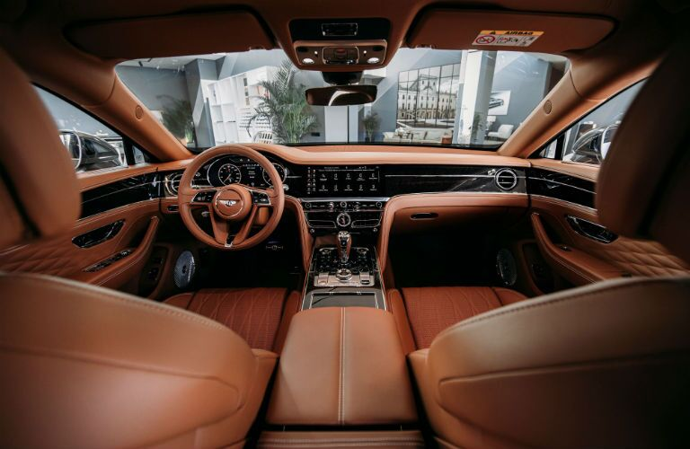 2020 Bentley Flying Spur Interior Cabin Front Seating & Dashboard
