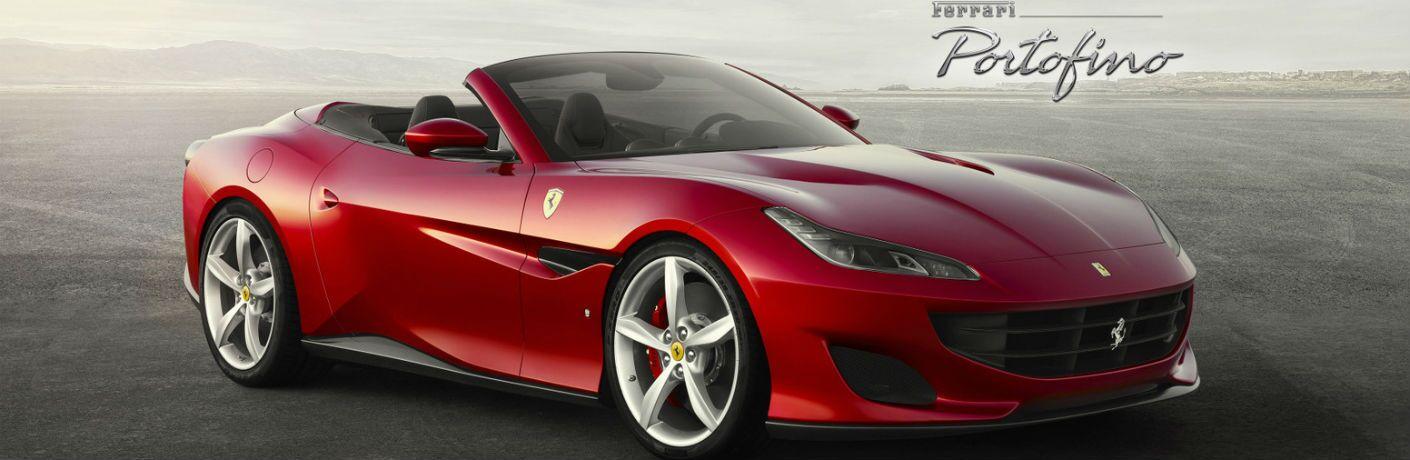 2020 Ferrari Portofino Exterior Passenger Side Front Profile
