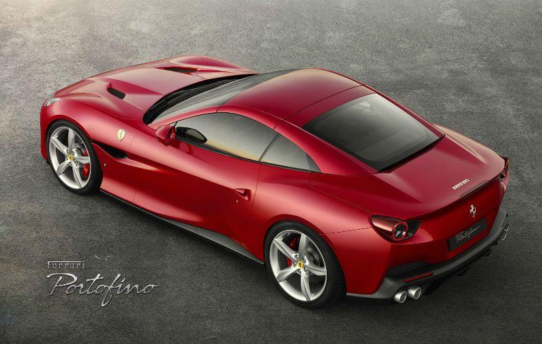 2020 Ferrari Portofino Exterior Driver Side Rear Aerial