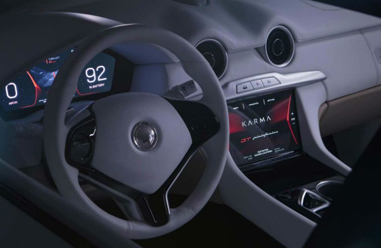 2020 Karma GT by Pininfarina Interior Cabin Dashboard