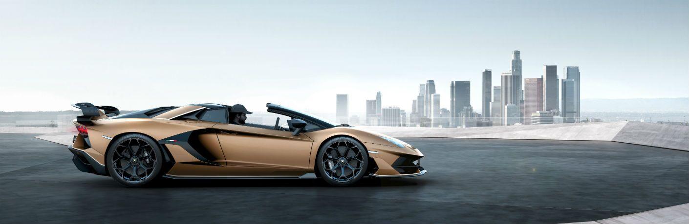 2020 Lamborghini Aventador SVJ Roadster Exterior Passenger Side Profile