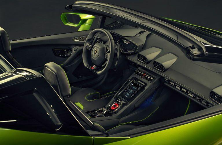 2020 Lamborghini Huracan EVO Spyder Interior Cabin Dashboard