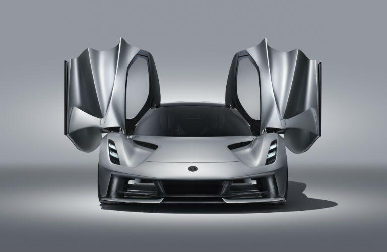 2020 Lotus Evija Exterior Front Fascia with Doors Open