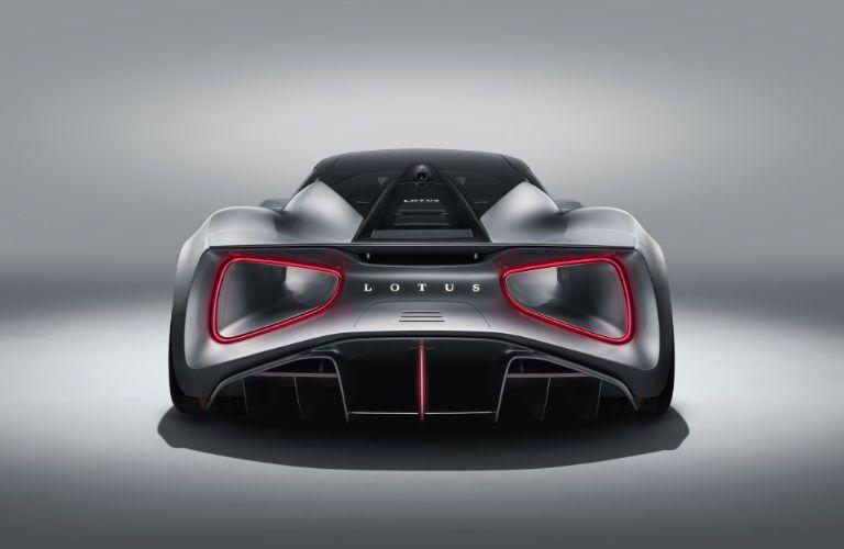 2020 Lotus Evija Exterior Rear Fascia