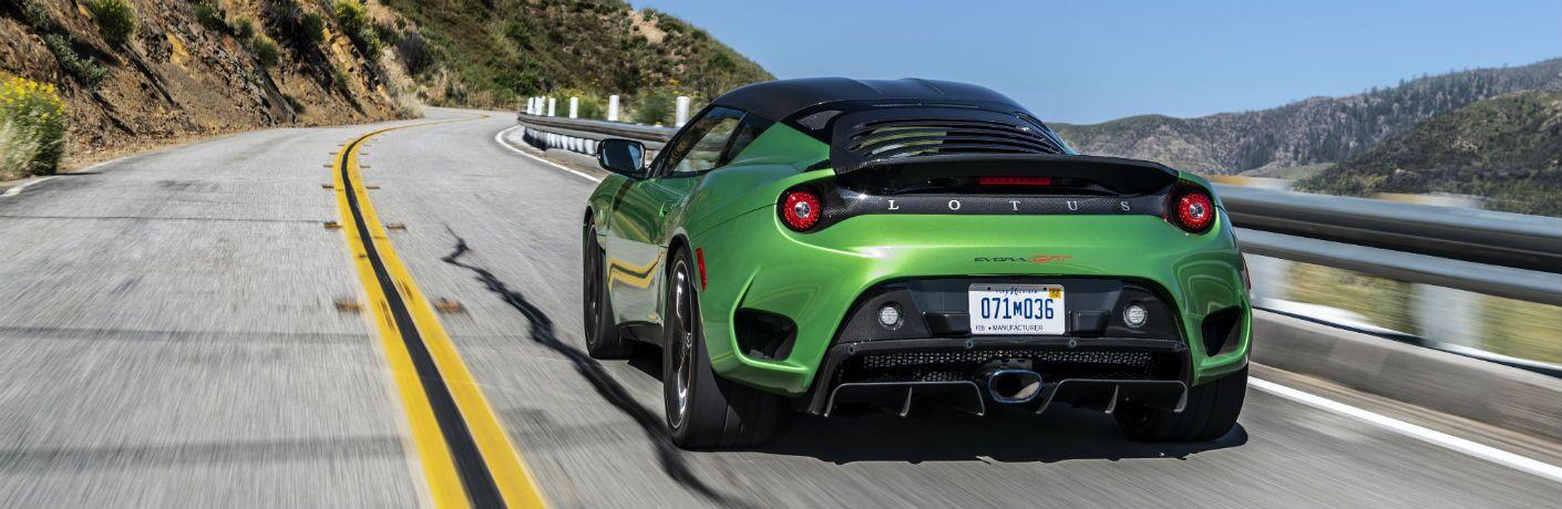 2020 Lotus Evora GT Exterior Driver Side Rear Angle