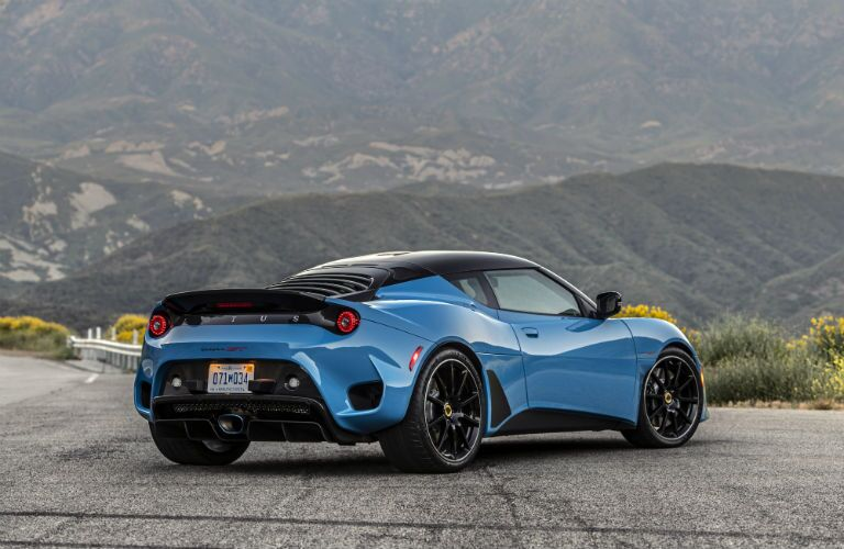2020 Lotus Evora GT Exterior Passenger Side Rear Profile