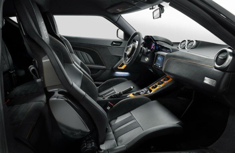 2020 Lotus Evora GT Interior Cabin Front Seating