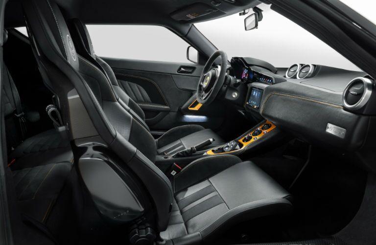 2020 Lotus Evora GT Interior Cabin Front Seating