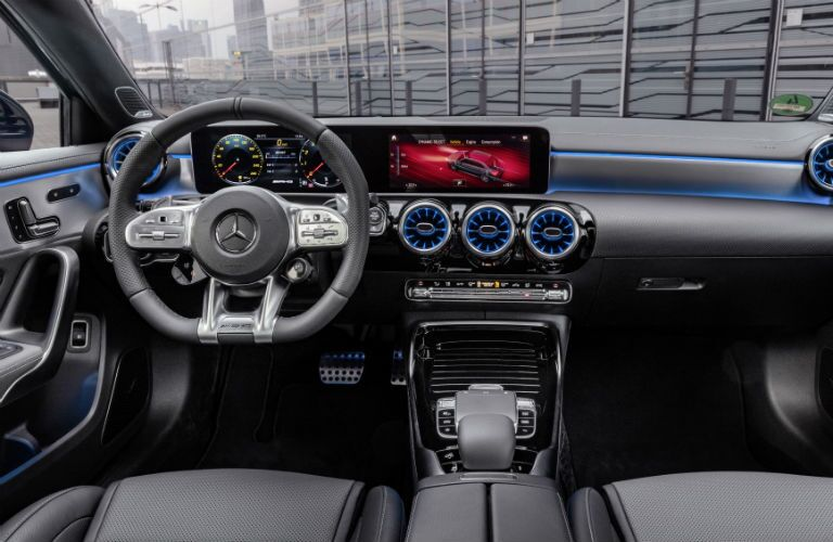 Mercedes-Benz A-Class AMG 35 Interior Cabin Dashboard