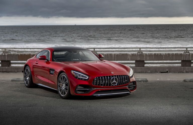 2020 Mercedes-Benz AMG GT C Coupe Exterior Passenger Side Front Profile