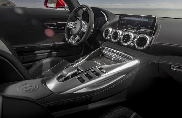 2020 Mercedes-Benz AMG GT C Coupe Interior Cabin Dashboard
