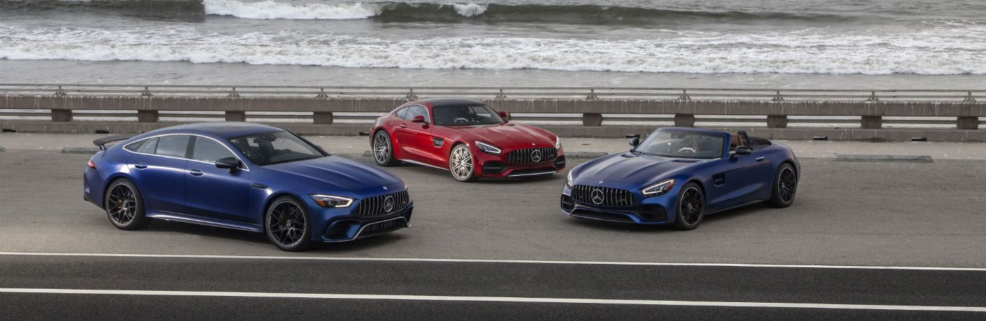 2020 Mercedes-Benz AMG GT C Lineup Including Coupe, 4-Door Coupe, Roadster