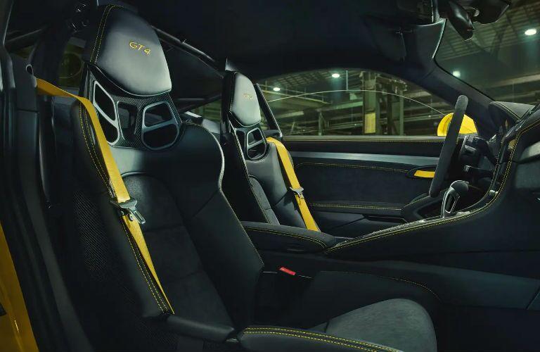 Porsche 718 Cayman GT4 Interior Cabin Seating