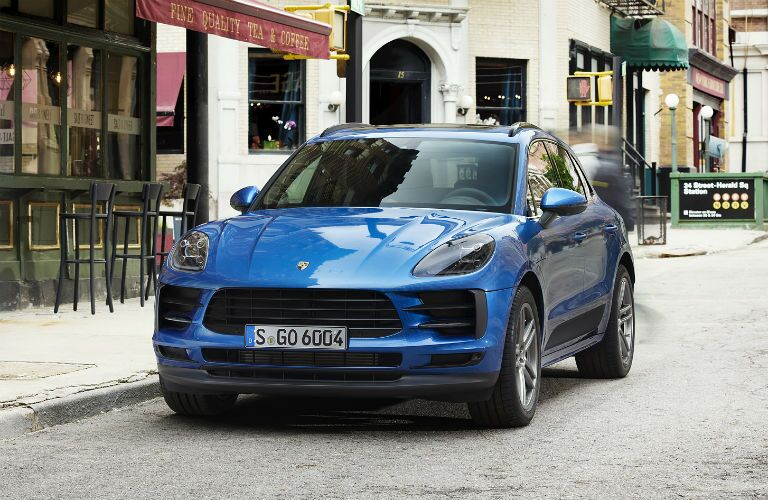 2020 Porsche Macan Exterior Driver Side Front Angle