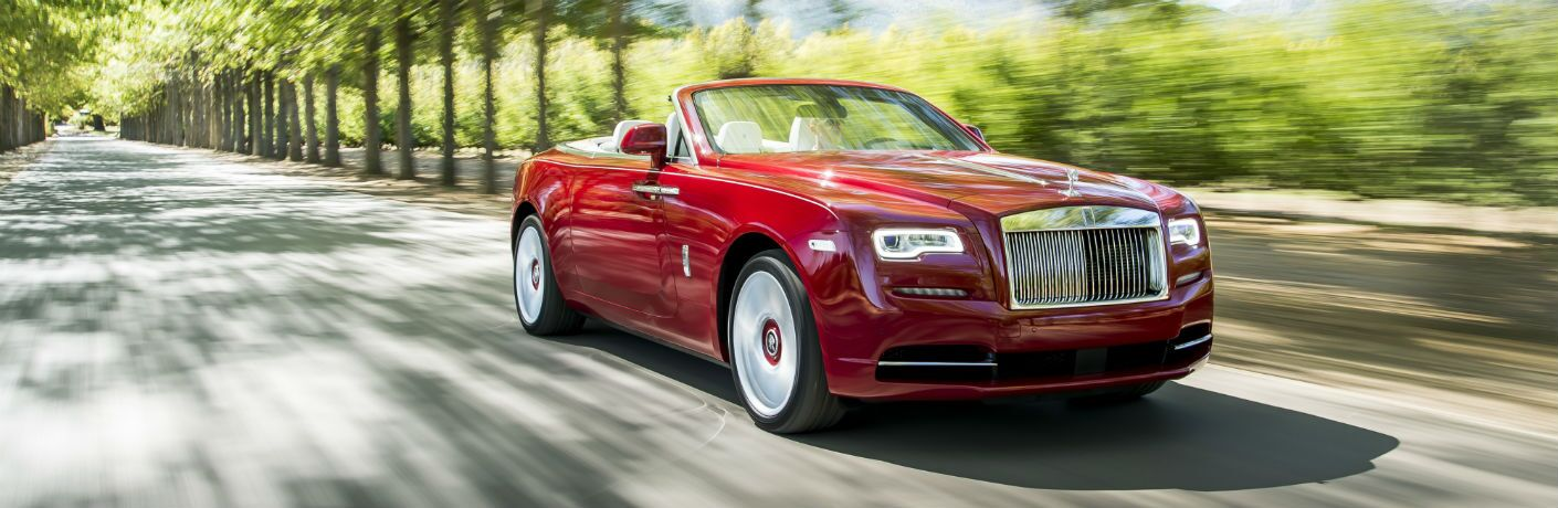 2020 Rolls-Royce Dawn Exterior Passenger Side Front Angle
