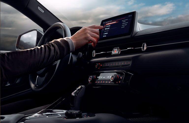 2020 Toyota Supra Interior Cabin Dashboard