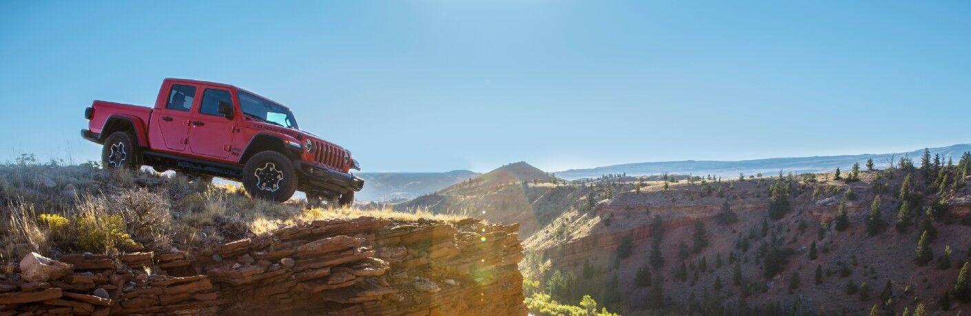 2021 Jeep Gladiator Exterior Passenger Side Front Profile