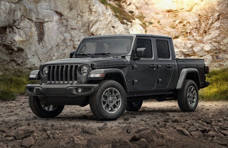 2021 Jeep Gladiator Exterior Driver Side Front Profile
