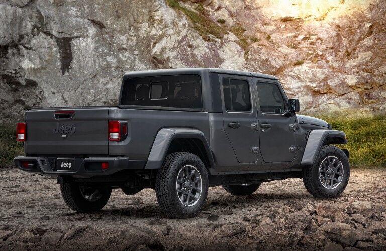 2021 Jeep Gladiator Exterior Passenger Side Rear Profile