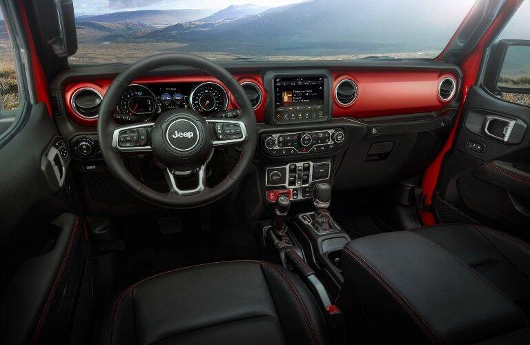 2021 Jeep Gladiator Interior Cabin Dashboard