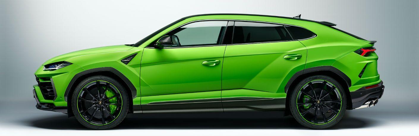 2021 Lamborghini Urus Pearl Capsule Exterior Driver Side Profile